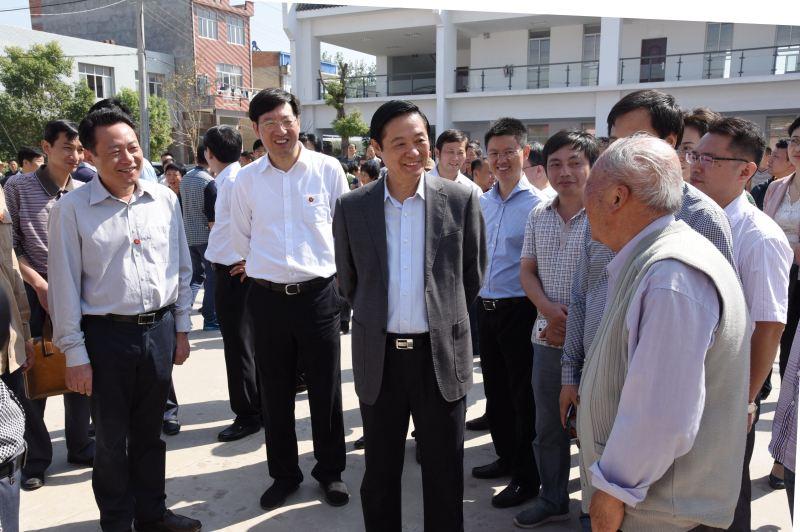刘奇葆调研西安大遗址保护和利用