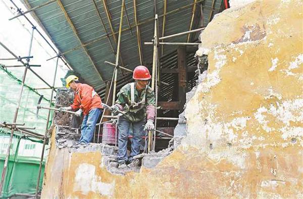 重庆老城现存最后一座衙门正在修复