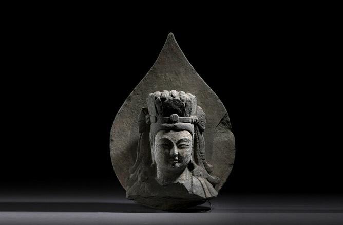 山西博物院藏北齐石刻佛像