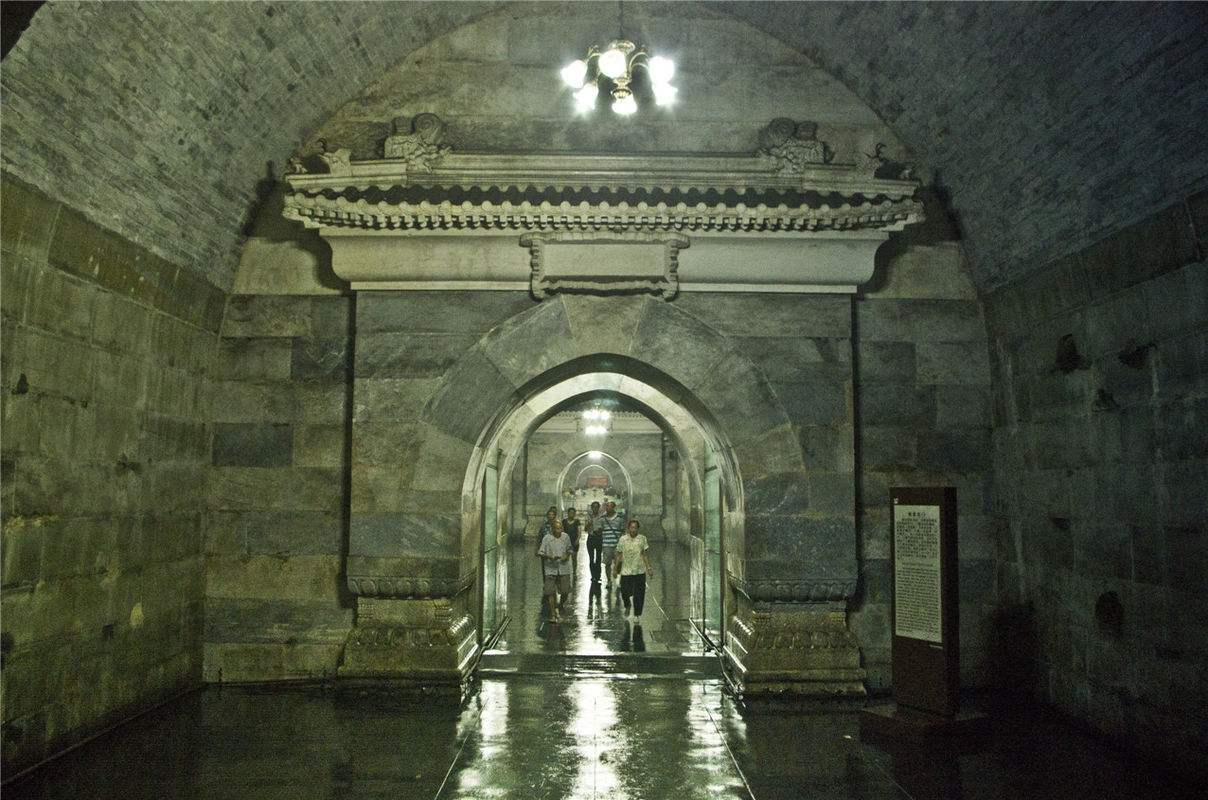 定陵地宫遍布的玄机