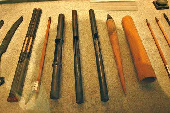 制笔的重大改革——披柱法的创始