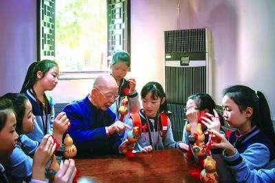 南京市民俗博物馆面向青少年传播非遗文化