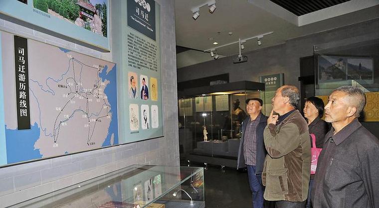 渭南市博物馆接待观众突破60万人次