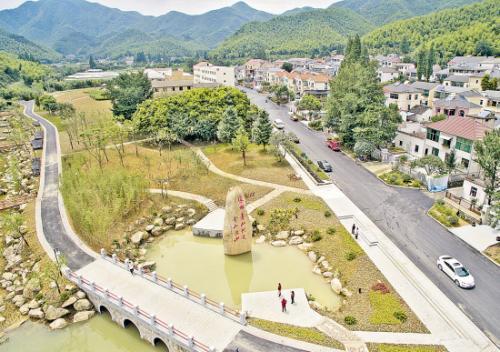 安吉县公布两山会址为县级优乐国际单位
