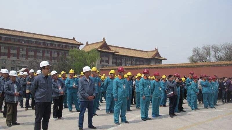 纸质优乐国际国家基地赴陕历博壁画基地交流