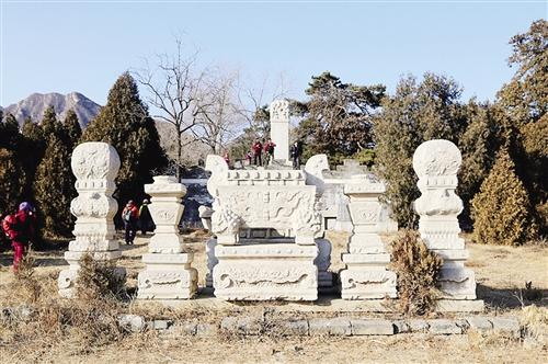 十三陵思陵石烛台被盗案17人被追责 失窃文物已追回