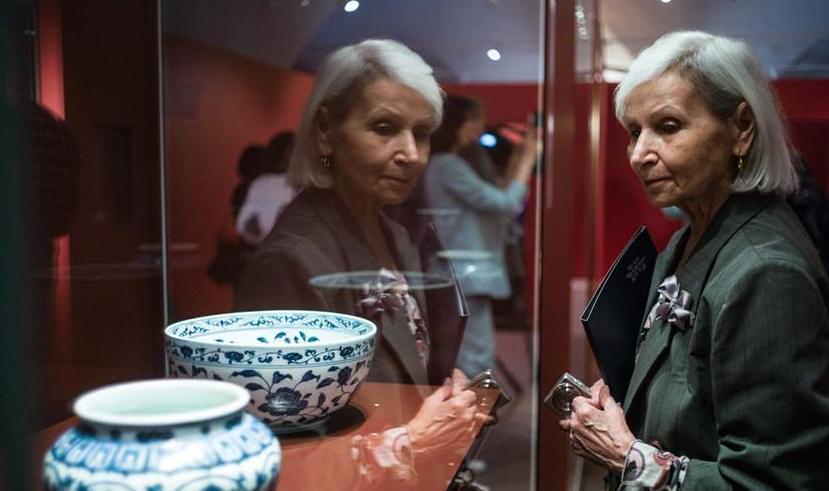 156件明朝文物在莫斯科展出 展现中国古代文化艺术精华
