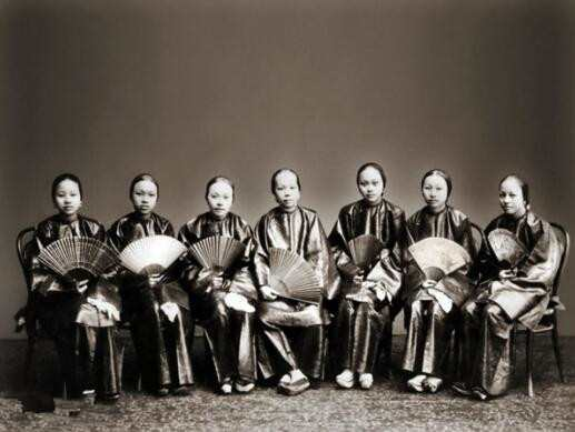 外国博物馆里面的中国老照片