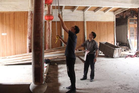 省级文物保护单位嘉欣园保护工程正式动工
