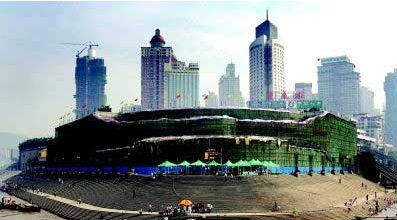 [重庆]朝天门广场改造引质疑 古城文化地标保护之争