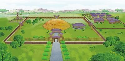 近两千年前东汉皇帝陵寝长啥样