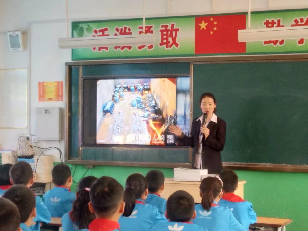 """淅川县博物馆举办""""历史课堂进校园""""活动"""