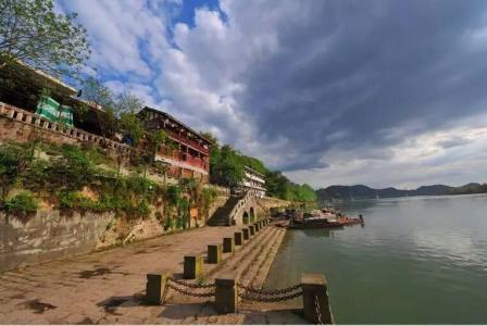 [南充]嘉陵江最后码头古镇:江映古建筑精美绝伦