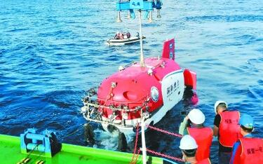 6名勇士下潜千米采集文物 中国考古打开深海之门