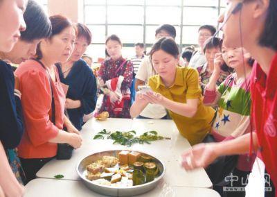 中山市非物质文化遗产体验日在中山市文化馆举行