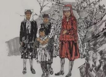 人美美术馆举办中国画艺术展 观展需提前预约
