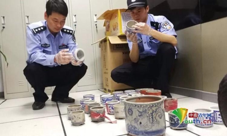 """宗祠堂内发生""""文物""""盗窃案 警方10小时破获"""