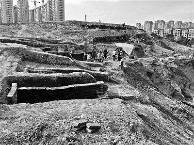 萧山古墓群损毁 部分重点文物现已被搬离现场