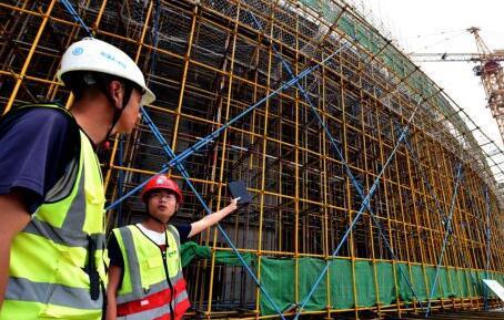 郑州博物馆新馆加紧施工