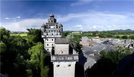 开平碉楼:世界最大的碉楼博物馆