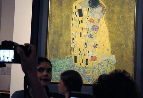 奥地利国家美术馆举行免费开放日活动