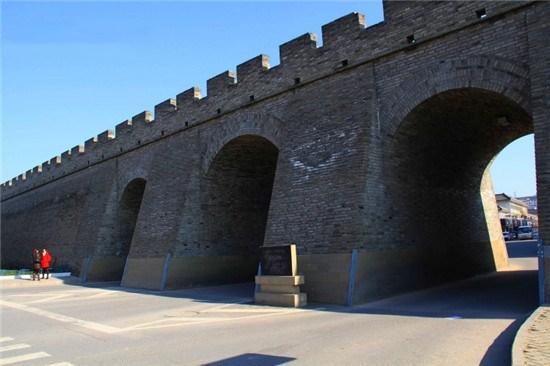 榆林城墻:明清城堡  軍事防御體