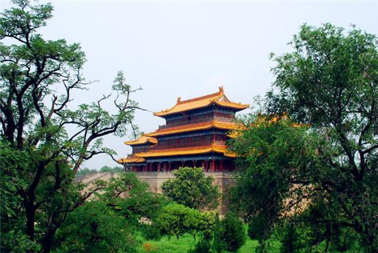 灏灵殿:华山西岳庙渭南古建
