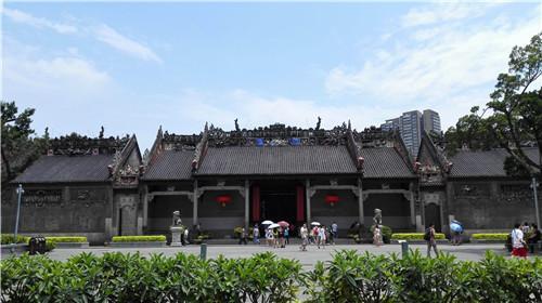 陈家祠:一座精妙绝伦的雕塑艺术建筑