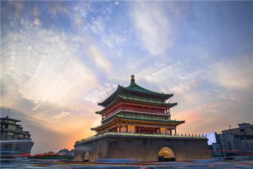 西安钟楼:古香古色独一无二的明朝古建筑