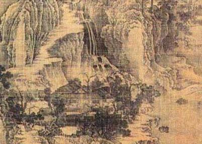 荆浩《匡庐图》的山水仙境