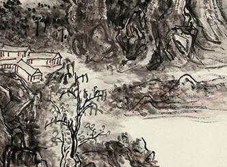 黄宾虹《浈阳峡》赏析:澄怀古道 浑厚华滋