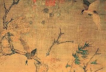 《双喜图》:北宋花鸟画新风的体现
