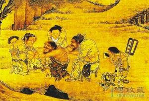 欣赏台北故宫博物院藏之村医图