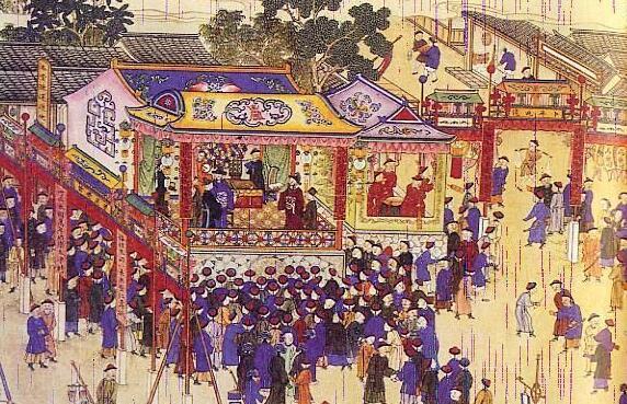 鉴赏《万寿盛典图》长卷
