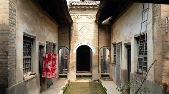 于家大院:瘦长型西安古民居院落