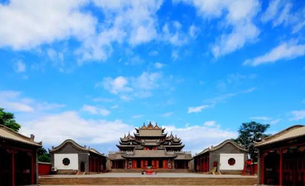 玉皇閣:造型奇特氣勢雄偉的寧夏道家場所