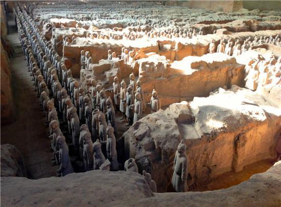 秦始皇陵:封建王權至高無上的世界奇跡