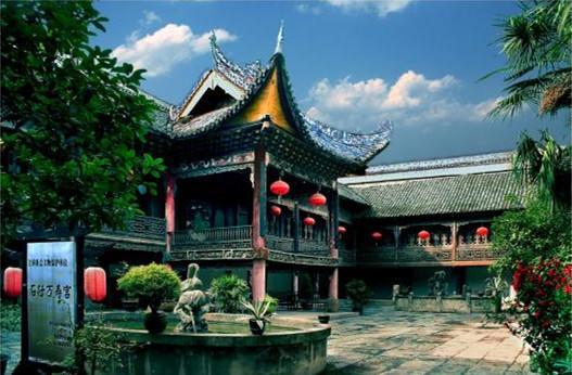 萬壽宮古建筑群:全國保存最好最大的宮宇
