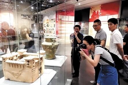 广西63件文物精品亮相南宁博物馆 将展出至6月17日