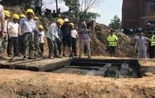 荆州发现西汉早期墓葬 保存完好