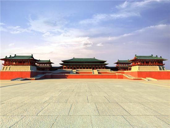 太極宮:長安第一處大宮殿群