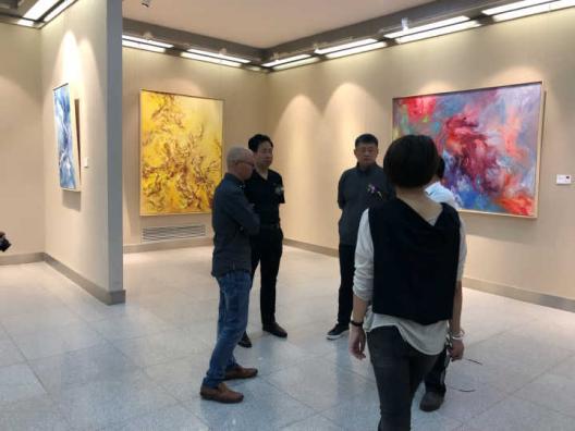 王清州画展于5月17日下午在甘肃美术馆开幕