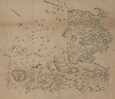 [温州]手绘古地图回归故里 再现清代温州海上丝路贸易