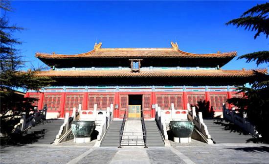 奉先殿:工字形漢代宮殿建筑