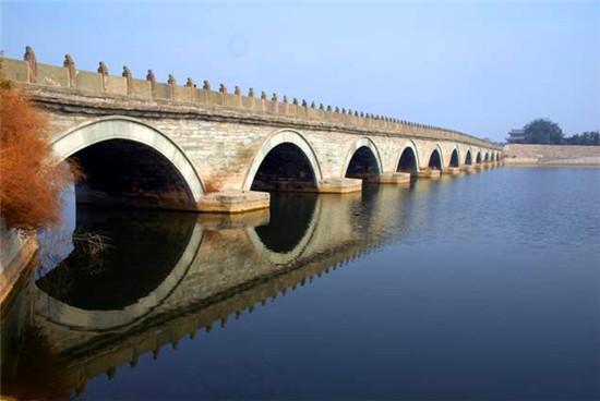 盧溝橋:最古老石造聯拱橋