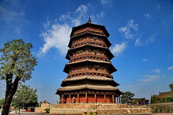 应县木塔:中国古建筑斗拱博物馆