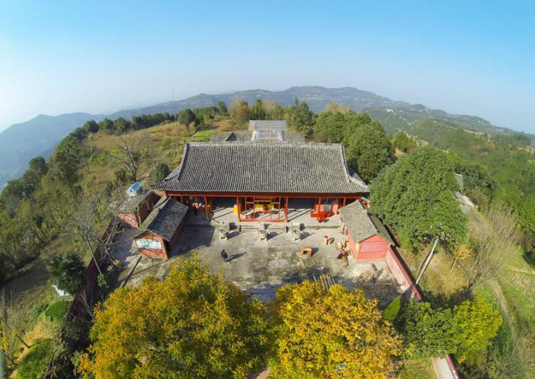 绵阳云台观:中国四大著名道观之一