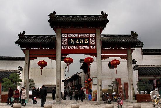高淳老街:江苏省内保存最完好的古建筑群