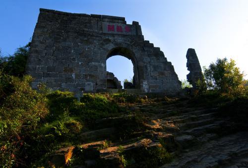 世界文化遗产海龙屯局部维修 不影响参观
