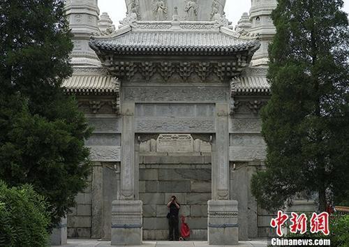 [北京]藏传佛教寺院西黄寺首次开放公众参观